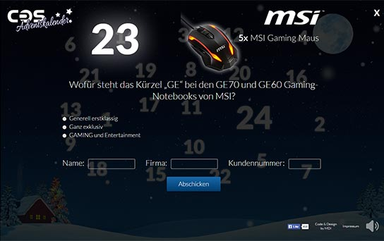 Referenz COS Computer
